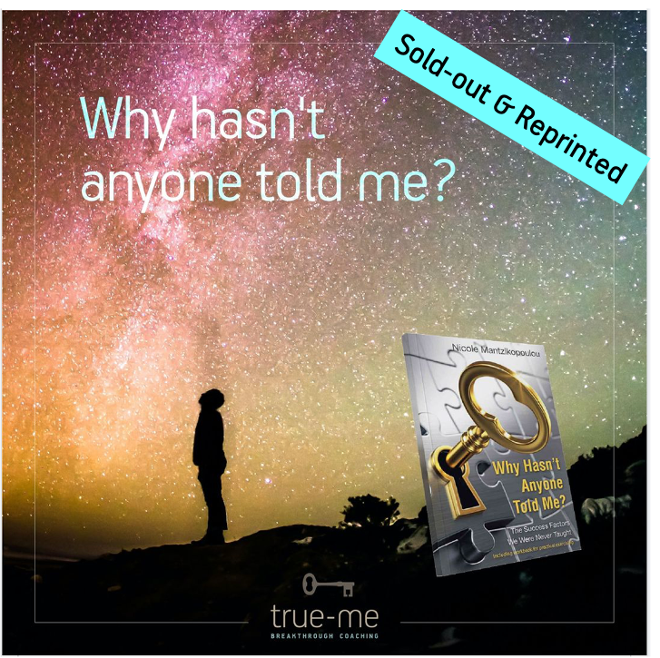 """""""Why hasn't anyone told me? The success factor we were never taught"""" – Sold-out & Reprinted"""